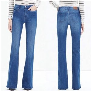 Madewell 'Flea Market' Flare Jeans (Kara Wash) 28